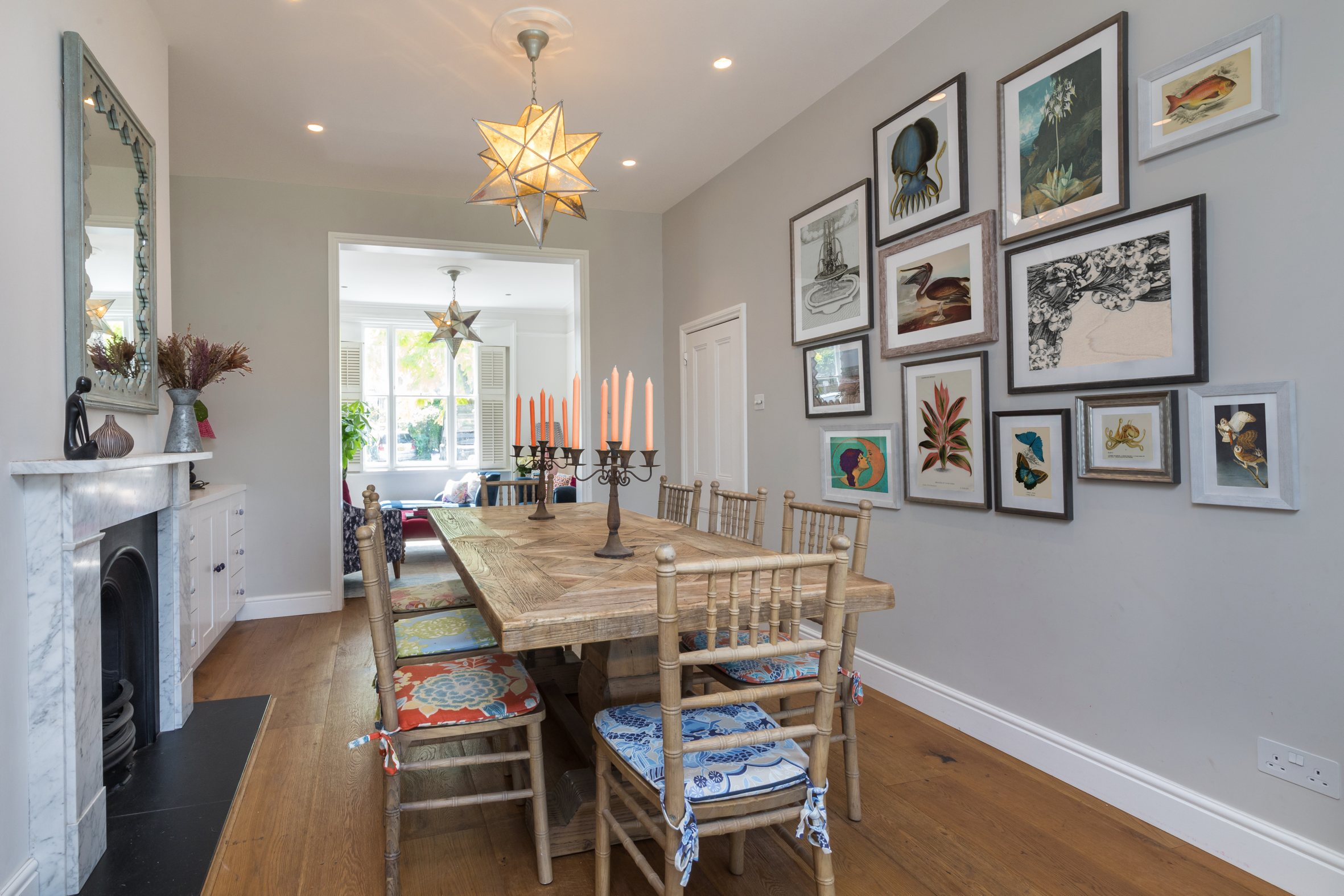 Richmond dining room design