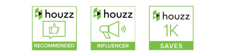Houzz recommendation badges