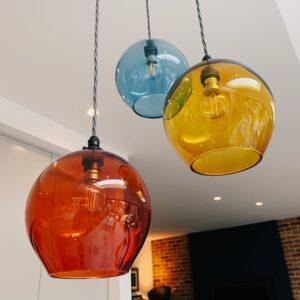 Kitchen pendants Richmond lighting design